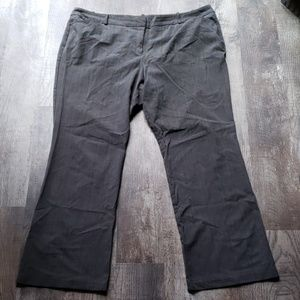 Modern Fit Plaid Work Trousers